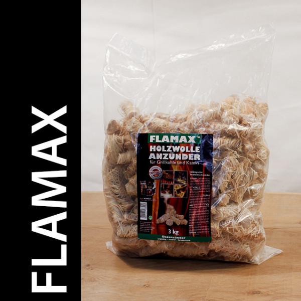 Flamax Holzwolleanzünder 3 x 3 Kg